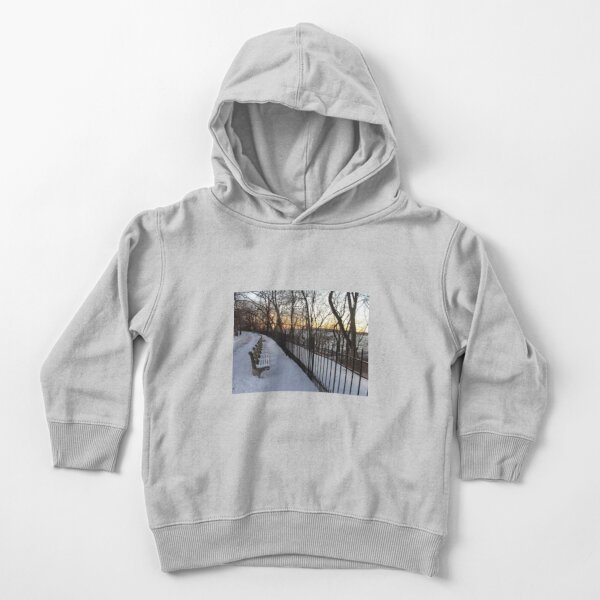Snow Toddler Pullover Hoodie