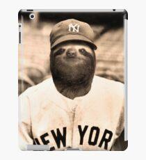 Baseball Sloth iPad Case/Skin