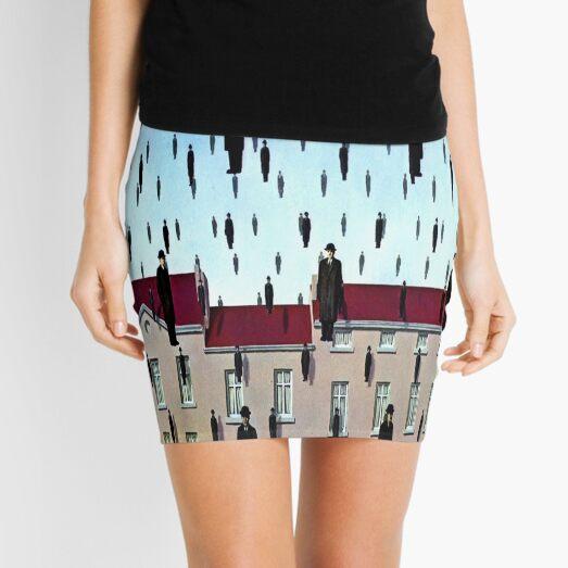 Golconda by  René Magritte Mini Skirt