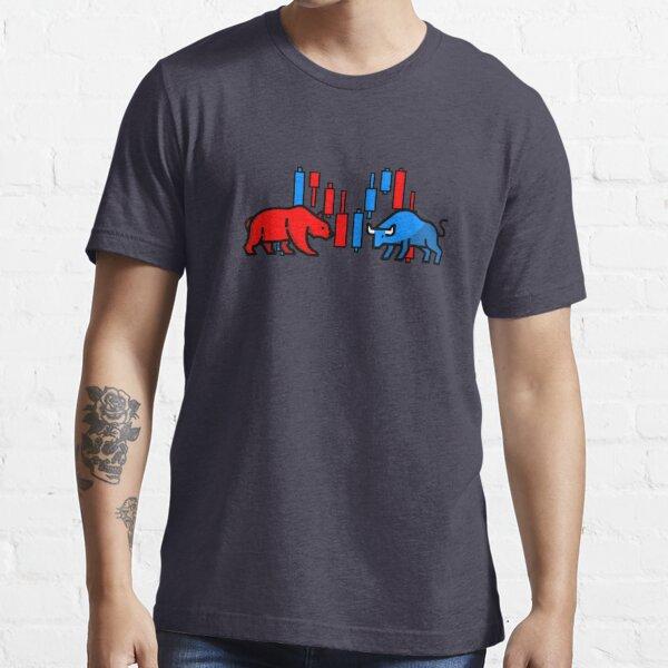 Trading Bear vs Bull Camiseta esencial