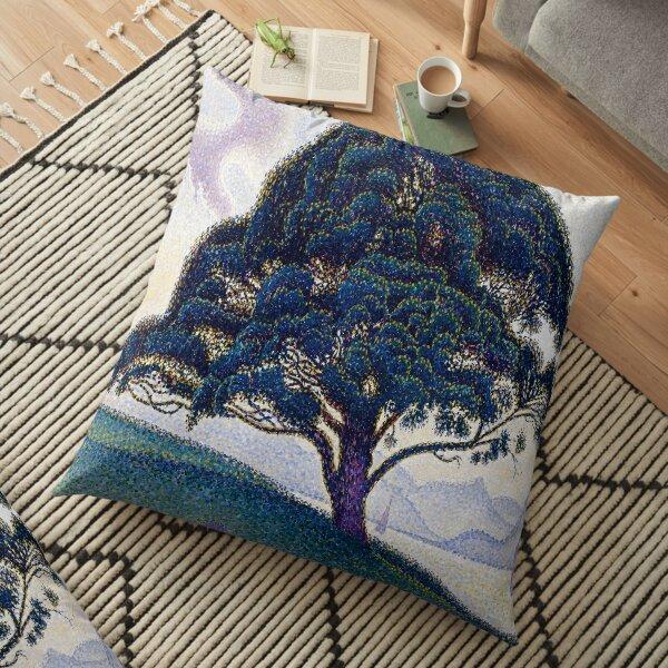 The Bonaventure Pine-Paul Signac Floor Pillow