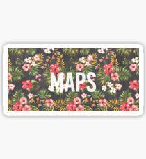 Maps Sticker Sticker