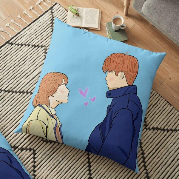 STRONG WOMAN SO BONG SOON fan art Floor Pillow