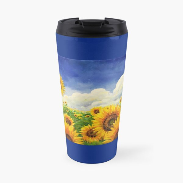Sun On Their Faces Travel Mug