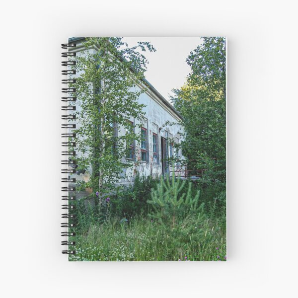A House in the Woods Spiral Notebook