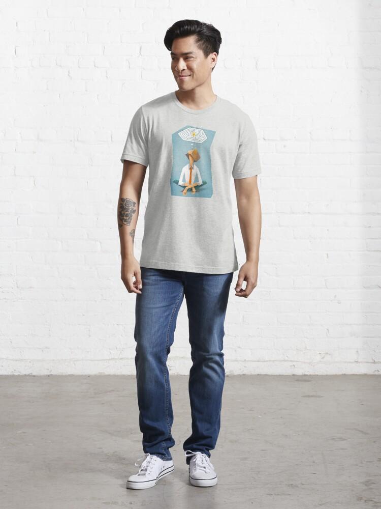 """Alternative Ansicht von """"Lösung"""" Tomek Biniek Essential T-Shirt"""