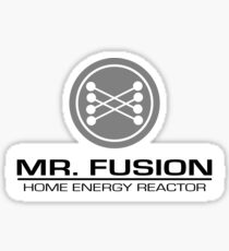 Mr. Fusion Sticker