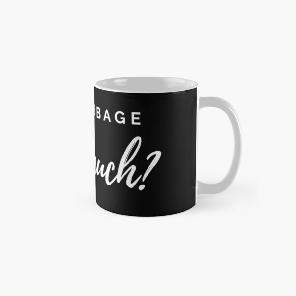 Red Cabbage. How Much? Classic Mug