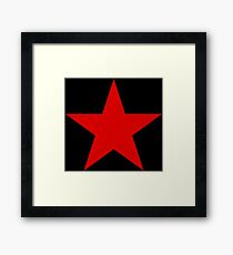 Soviet Air Forces-Red Star Framed Print