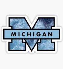 Ocean U of M Sticker