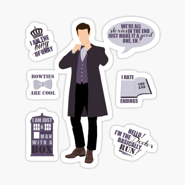 11 Doctor  Sticker
