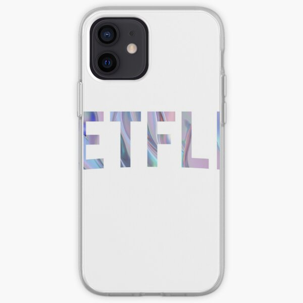 Purple Netflix iPhone Soft Case