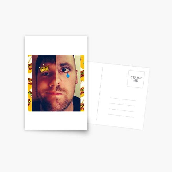 ColdmaN5 Split Faces Postcard
