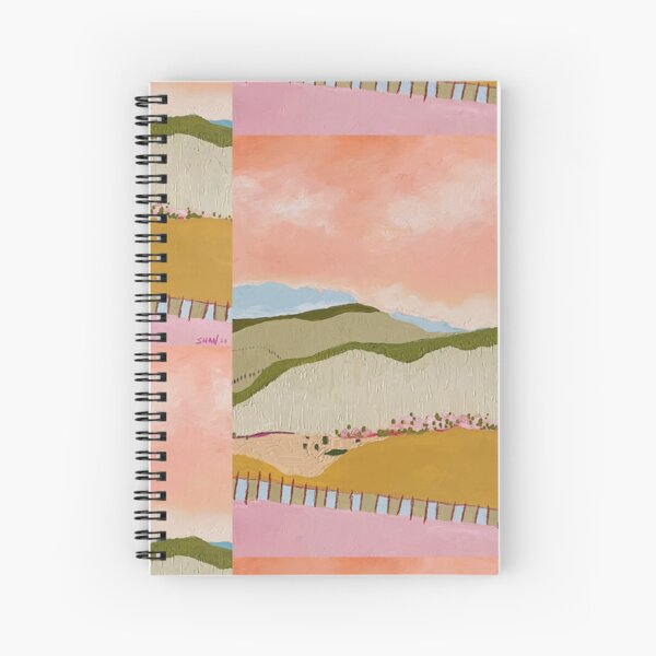 """Dreaming of Ireland"" Spiral Notebook"