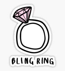 Bling Ring ♡ Trendy/Hipster/Tumblr Meme Sticker