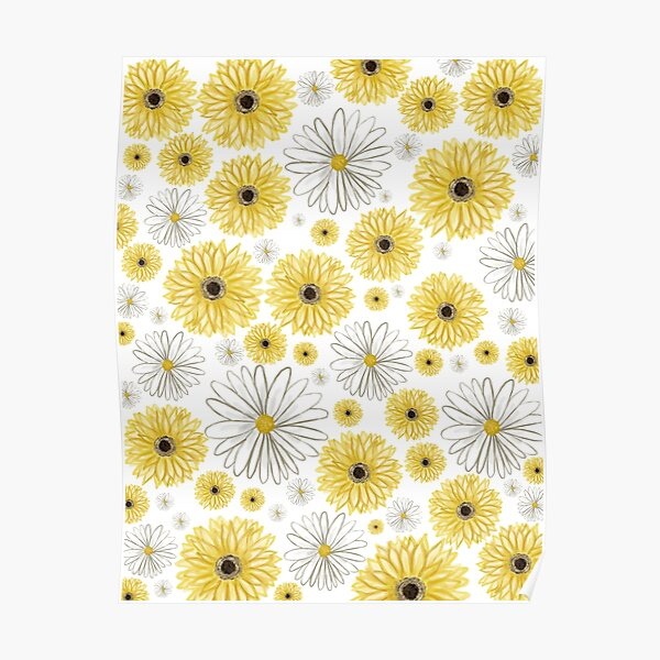 A Thousand Yellow Daisies Poster