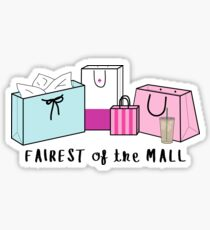 Fairest of the Mall ♥ Trendy/Hipster/Tumblr Meme Sticker