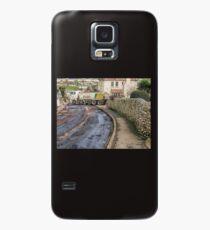 Road repairs. Lyme Regis. Dorset UK Case/Skin for Samsung Galaxy