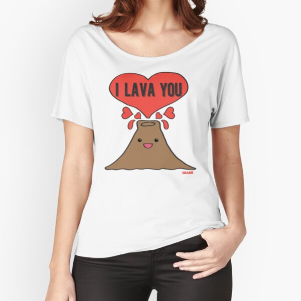Lava Love Relaxed Fit T-Shirt