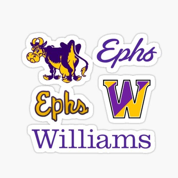 williams college logo pack Sticker