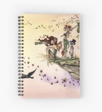 Where The Wind Takes You Spiral Notebook