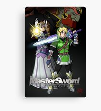 MasterSword Chronicles - Zelda/Xenoblade Crossover Canvas Print