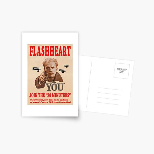 FLASHHEART WANTS YOU Postcard