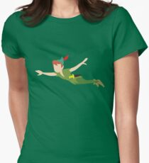 Peter Pan Women's Fitted T-Shirt