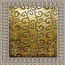 Golden Royal Floral  by Delights