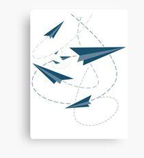 Paper Darts / Planes Canvas Print