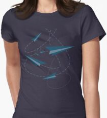 Paper Darts / Planes Women's Fitted T-Shirt