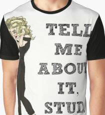 Tell Me About It, Stud Graphic T-Shirt