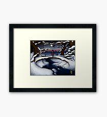 Dragon's Last Snowfall- Digital Art Framed Print