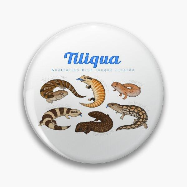 Blue-tongue Lizards Pin