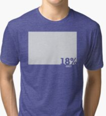18% Grey Test Tee Tri-blend T-Shirt