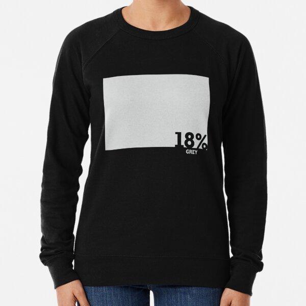 18% Grey Test Tee Lightweight Sweatshirt