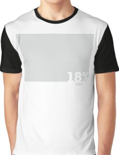 18% Grey Test Tee Graphic T-Shirt