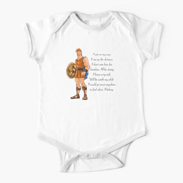 Hercules  Short Sleeve Baby One-Piece