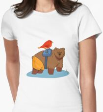 Real life Banjo Kazooie  Women's Fitted T-Shirt