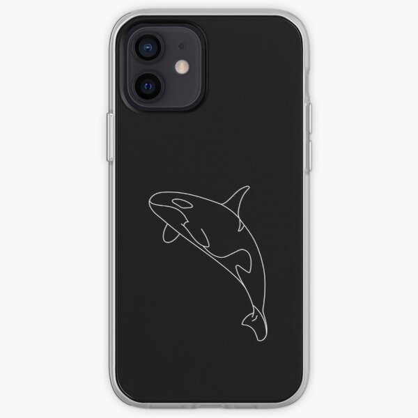 White Orca iPhone Soft Case