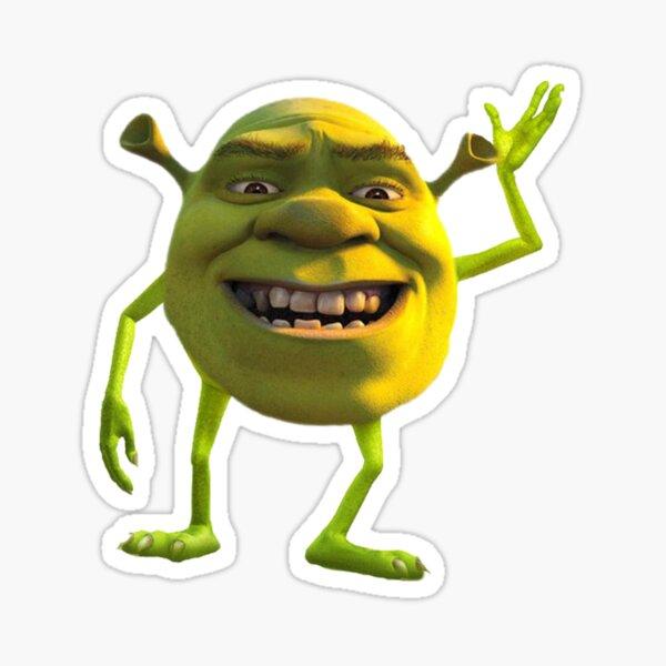 Shrek Wazowski Pegatina