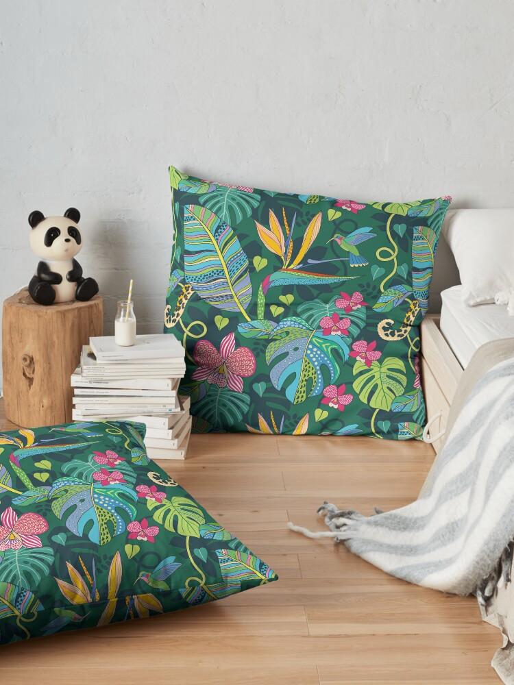 Alternate view of Bohemian Tropics Floor Pillow