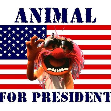 Animal for President by powerboxx