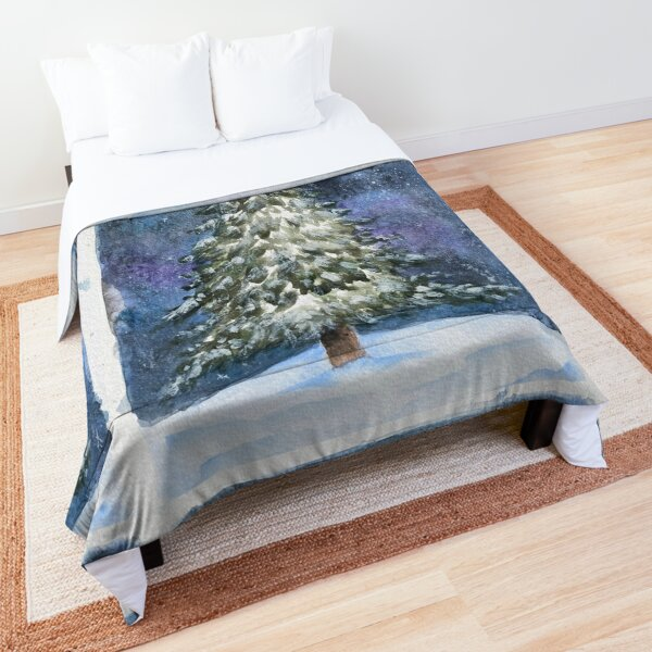 Snowy Pine Comforter
