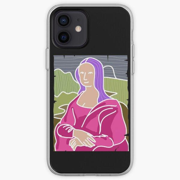 Fancy Mona Lisa iPhone Soft Case