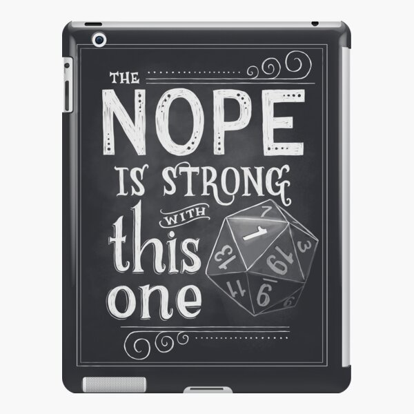 The NOPE is Strong with This One iPad Snap Case