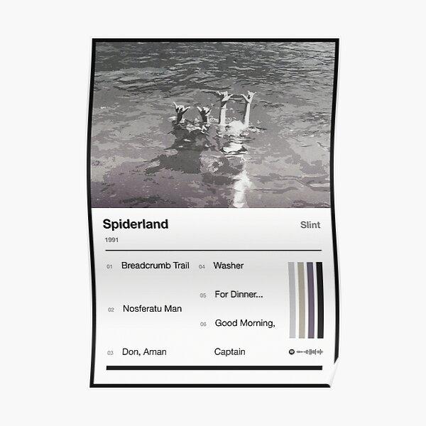 Spiderland Tracklist Poster