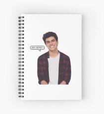 Jack Gilinsky Spiral Notebook