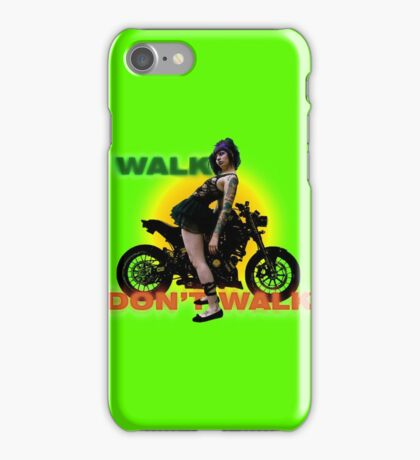 walk .. don't .. walk .. iPhone Case/Skin
