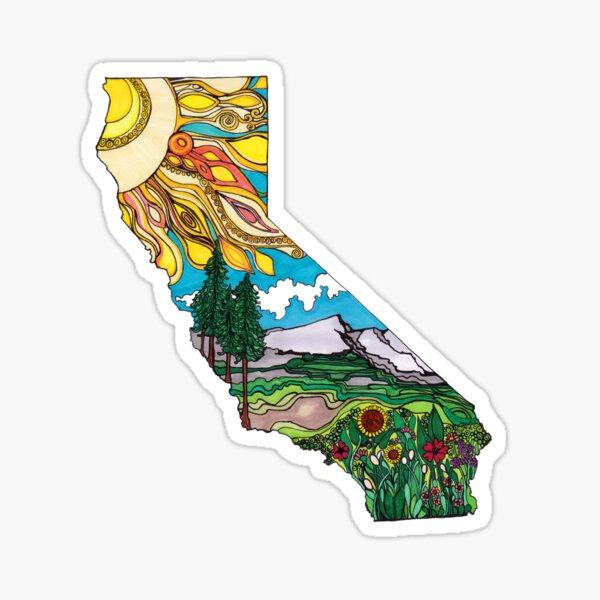 California is Love Sticker